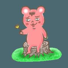 ピン眉クマ 使える会話 感情編
