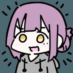 佐藤紫音とスタンプ