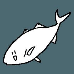 お魚などのスタンプ2