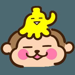 うっきー with バナナ