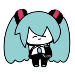 ヲキチの初音ミクスタンプ
