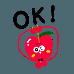 リンゴのりんちゃん