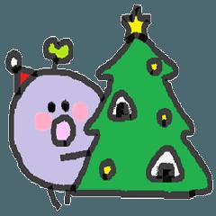 むらさきくんと小友っちのクリスマス