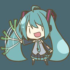 シンプル(雑)初音ミクスタンプ