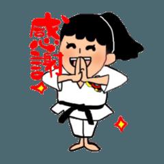少林寺拳法(頑張れ娘ver.)