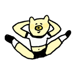 体操着クマ