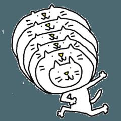 [LINEスタンプ] 猫かぶりキャット