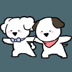 [LINEスタンプ] すこぶるちびイヌ