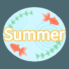 7月8月 行事&日常で使える夏スタンプ