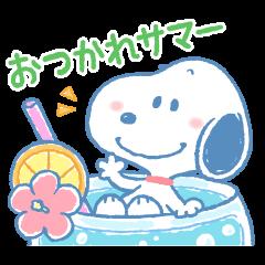 ゆるカワ♪スヌーピーの夏