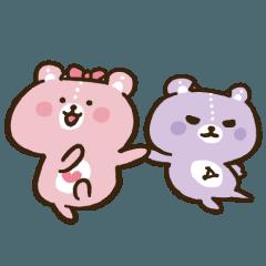 コアックマ&アックマ(べやパパ)