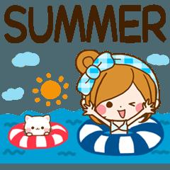ほのぼのカノジョ Summer message