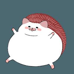 太ったはりねずみらドオとチイ (日本語)