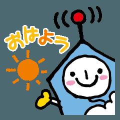 [LINEスタンプ] ニコらすたんぷ