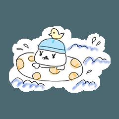 [LINEスタンプ] ザ・マロンの季節