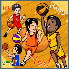 バスケットボールプレーヤー