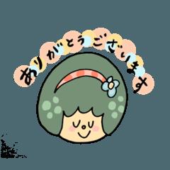 meri-kukkaゆる敬語スタンプ