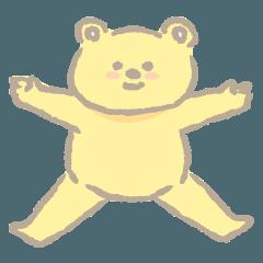 クマのバベルのスタンプ