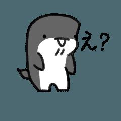 [LINEスタンプ] こんにちは クジラ!