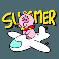 ぶたくんの夏
