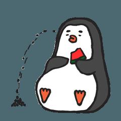 部屋のペンギンRIripeng(夏バージョン)