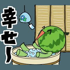 動く!スイカ太郎の夏
