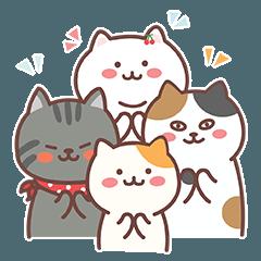 [LINEスタンプ] 斑点猫