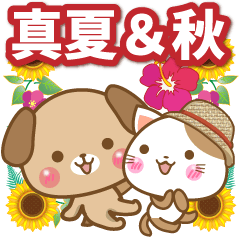 子犬と子猫の【真夏&秋】
