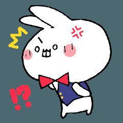 うさ便り9〜怒ってる人が使うスタンプ〜