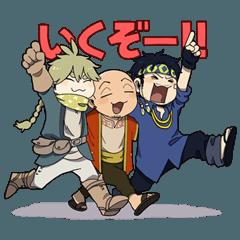 [LINEスタンプ] 異次元のキャラバン ミニ!2nd