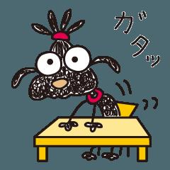 ちょびっとマンガ/ムーさんのオノマトペ