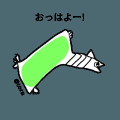 [LINEスタンプ] 落書きどうぶつスタンプ (1)