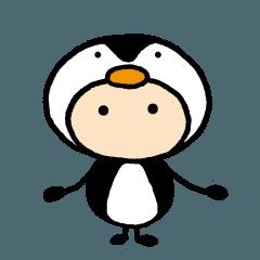 あばたーちゃん ペンギンの着ぐるみ