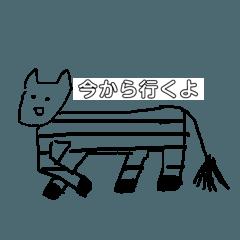 絵心ない日常animalスタンプ
