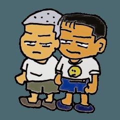 太郎ちゃんとカツオ