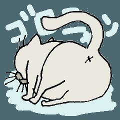 The 雑 ぶさ猫 ゴロベイ
