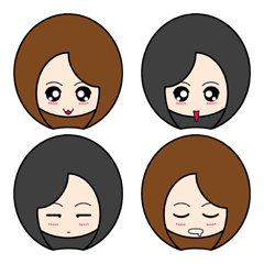 [LINEスタンプ] mini to be. ~ 絵文字 ~ (1)