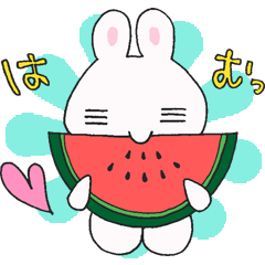 ゆるかわうささん夏(サマー)★2018