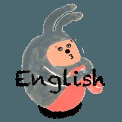 ウサ坊 英語バージョン
