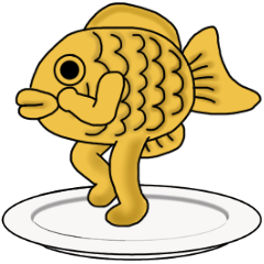 [LINEスタンプ] 動く!食べ物、動物たち