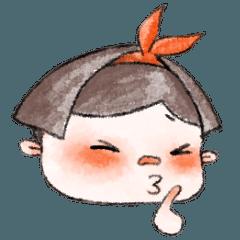 [LINEスタンプ] カジュアルな子供たち 3