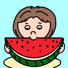 [LINEスタンプ] ぽっちゃりさんの日常会話【夏】