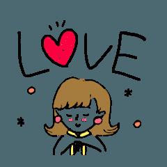 [LINEスタンプ] YURUKAWA Boy&Girl