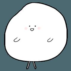 [LINEスタンプ] 綿菓子の一日