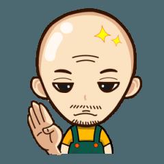 [LINEスタンプ] 山田社長のスタンプ (土佐弁込)