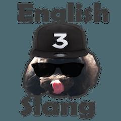 [LINEスタンプ] バイリンガールトイプードル英会話スラング