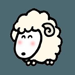 [LINEスタンプ] ゆきさんの小さな羊パート2