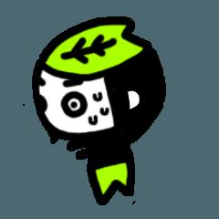 [LINEスタンプ] kasiwa餅ちゃん