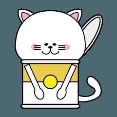 [LINEスタンプ] 缶詰王国の可愛い動物たちシリーズ3
