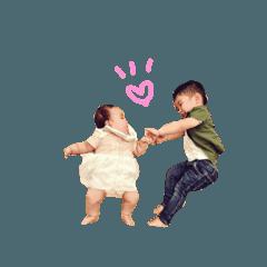 [LINEスタンプ] 小野兄妹すたんぷ①の画像(メイン)